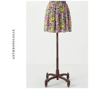 Anthropologie Flounced Petunia skirt